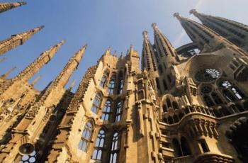 katedrála, Sagrada Familia