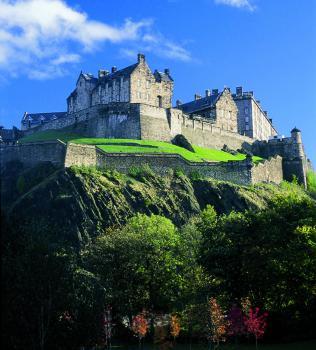 Edinburgh, zámek