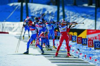 MS 2021 v biatlonu, Pokljuka - smíšená štafeta, sprint a stíhačka, hotel Bled