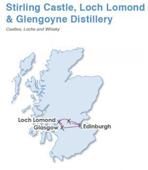 Skotskou historií, výlet