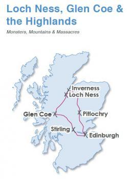 Skotskou Vysočinou, výlet