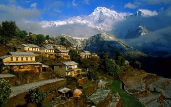 Nepál - trek