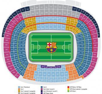 FC Barcelona, Plán hřiště
