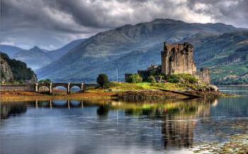 Eilean Donan, středověký hrad