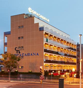 Hotel Copacabana***, Lloret de Mar - letecky