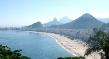 Hotel Toledo 3*, Rio de Janeiro - letecky