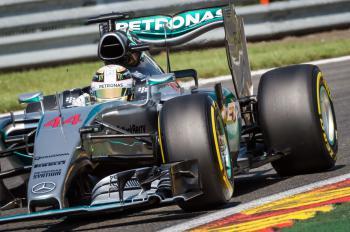 F1 Belgie - Lewis Hamilton