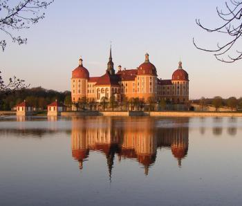 Drážďany - Moritzburg - Výstava Tři oříšky pro Popelku