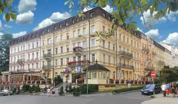 Sanatorium Kriváň, Karlovy Vary, Týden u vřídla