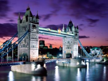 Londýn - Tower Bridge